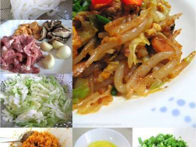 Recipe Fried mee tai bak
