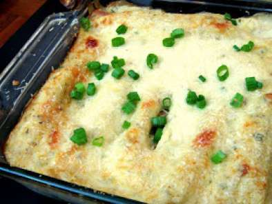 Recipe Crab stuffed manicotti