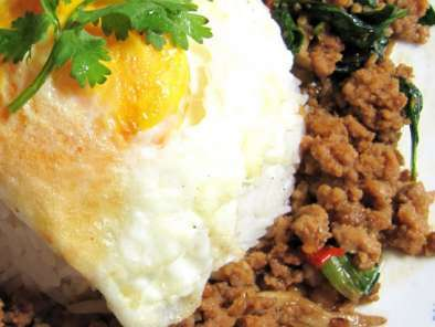 Recipe Hot basil minced meat rice
