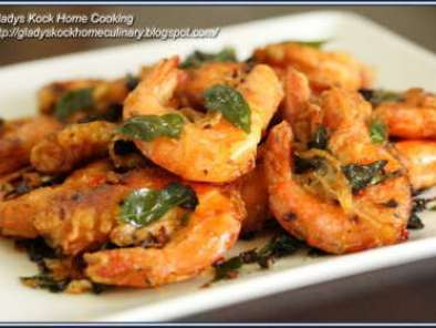 Crispy butter prawns recipe