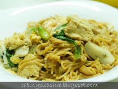 Recipe Braised yee-fu noodles