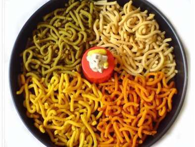 Recipe Butter murukku for indian cooking challenge