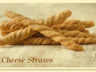 Recipe Cheese straws