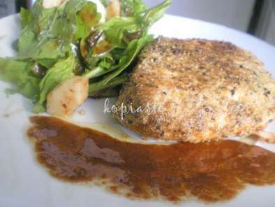 Recipe Seared crusted salmon