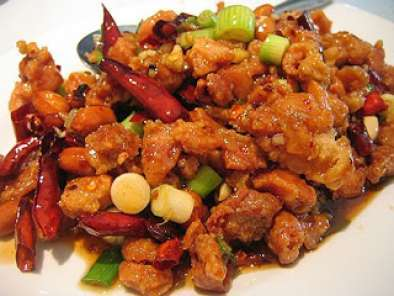 Recipe The famous chinese kung pao chicken