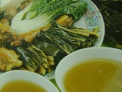 Recipe Dried duck head soup with fresh and dried cabbage