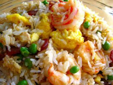 Recipe Hongkong (fragrant harbour) style fried rice