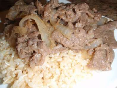 Recipe Korean beef with brown rice
