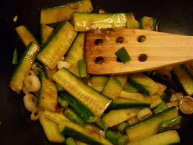 Recipe Stir-fried cucumber