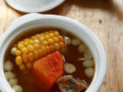 Recipe Pumpkin, Carrot & Corn Chinese Soup in a Pack