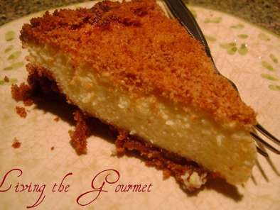 Recipe Ricotta cheese pie with cream cheese