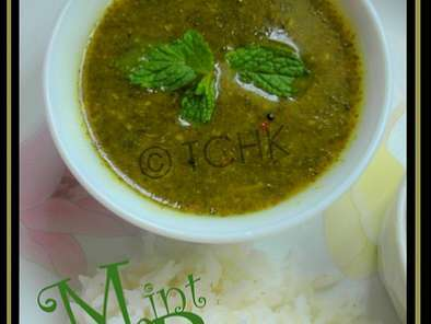 Recipe Mint rasam/pudina rasam