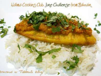 Recipe Walima cooking club june challenge: fish stew from bahrain