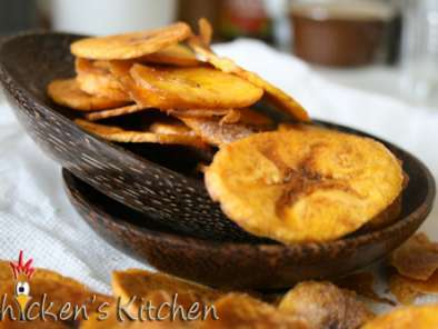 Recipe Homemade banana chips