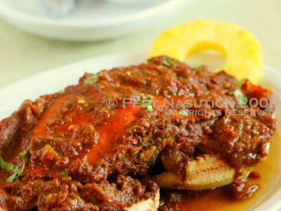 Recipe Kepiting saus padang - crab in padangese sauce