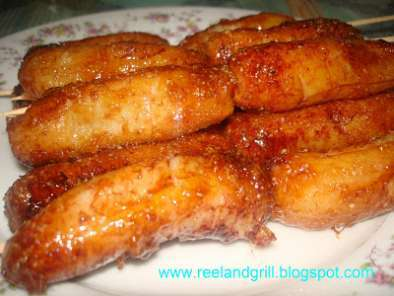 Recipe Banana que (deep fried banana with caramelized sugar)