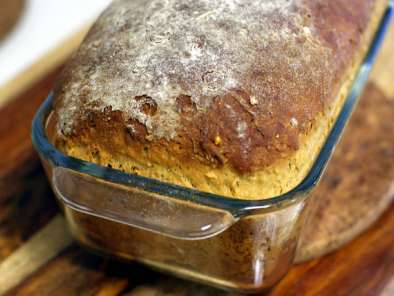Recipe Oatmeal molasses bread (cold rise method)