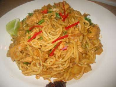 Recipe Singapore indian mee goreng version 2