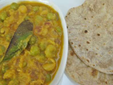 Recipe Pattani kurma /( green peas kurma)