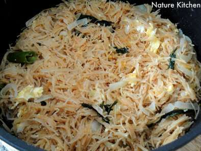 Recipe Semiya upma with scrambled egg