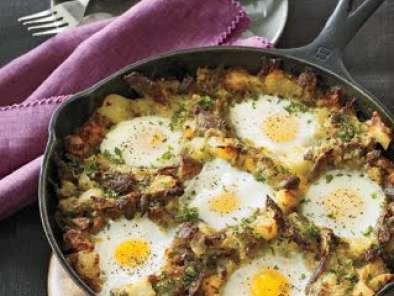 Recipe Duck-and-egg hash