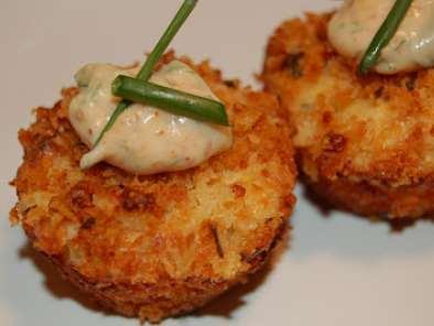 Recipe Mini crab cakes