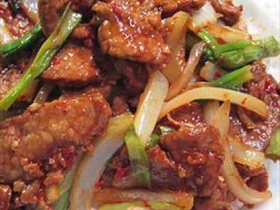 Recipe Learn how to make mongolian beef - chinese recipes