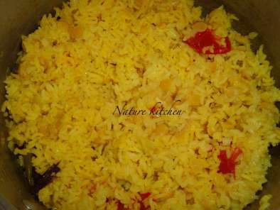 Recipe Paruppu satham (dal rice)