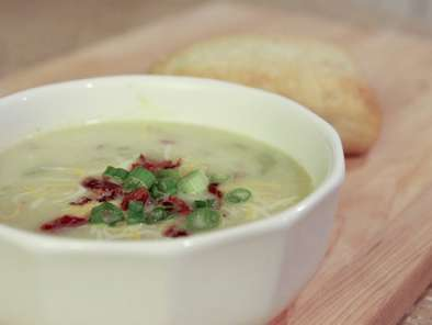 Recipe Potato leek soup