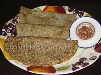 Recipe Pinto beans dosa - spicy