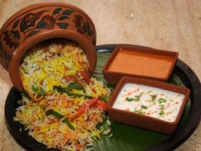 Recipe Vegetable biryani