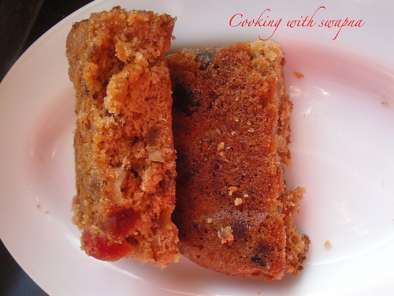 Recipe Rich old-fashioned fruit cake