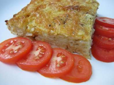 Recipe Eggless macaroni pie