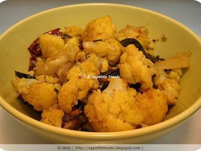 Recipe Cauliflower stir fry