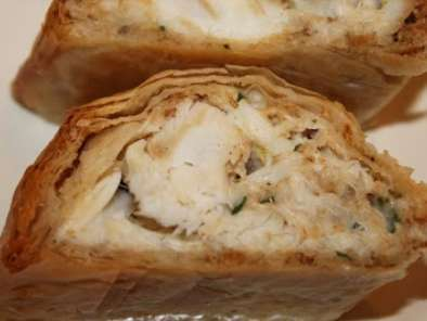 Recipe Crab in phyllo dough: cabin fever and the land of misfit foods