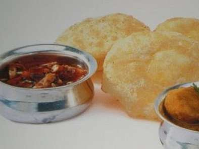Recipe Puri chole ( without onion & garlic paste )