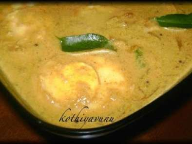 Recipe Mutta thenga pal curry / egg in coconut milk curry