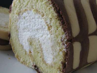Recipe Vanilla swiss roll