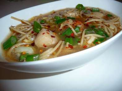 Recipe Soup's on: asian seafood soup