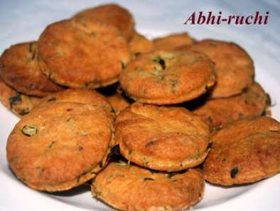 Recipe Khara biscuit/spicy biscuits