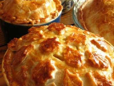 Recipe Chicken pie or pot pies.