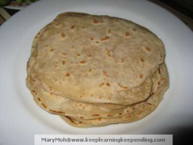 Recipe How to make chewy chinese pancakes