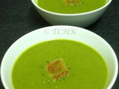 Recipe Spinach and orange soup
