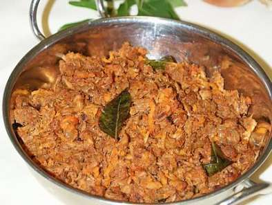 Recipe Tuna chikkiyathu /spicy tuna thoran (stir-fried tuna with spices)