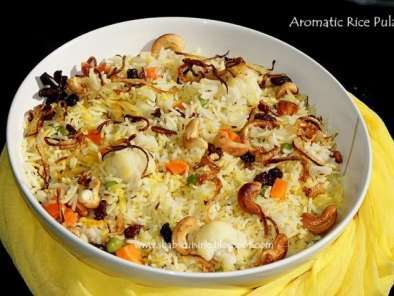 Recipe Aromatic rice pulao