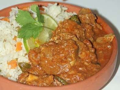 Recipe Mutton buhari (a kerala style mutton curry) and a prize!
