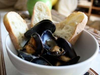 Recipe Quick classic french mussels
