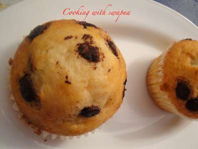 Recipe Chocolate chip muffins