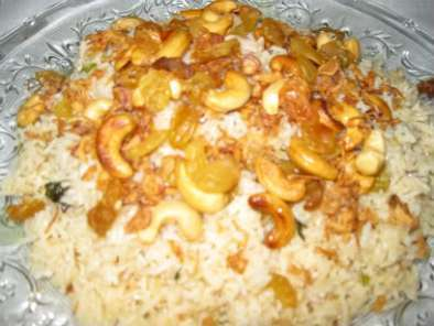 Recipe Nasi minyak (plain buttered rice)
