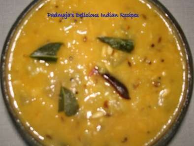 Recipe Dosakaya / indian yellow cucumber dal